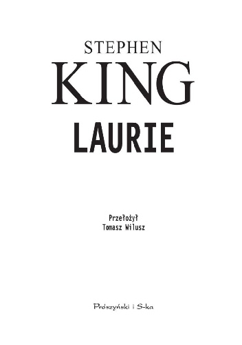 Stephen King- Laurie