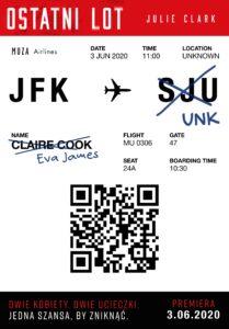 Ostatni-lot_okładka_mała Julie Clark- Ostatni lot [ZAPOWIEDŹ]